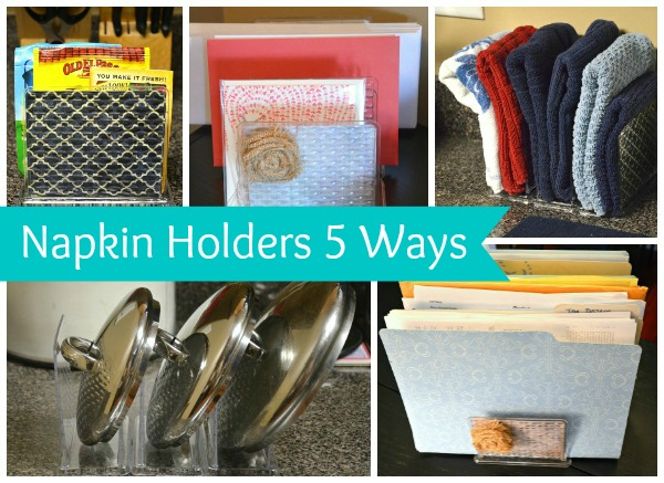 5 New Uses for Dollar Store Napkin Holders
