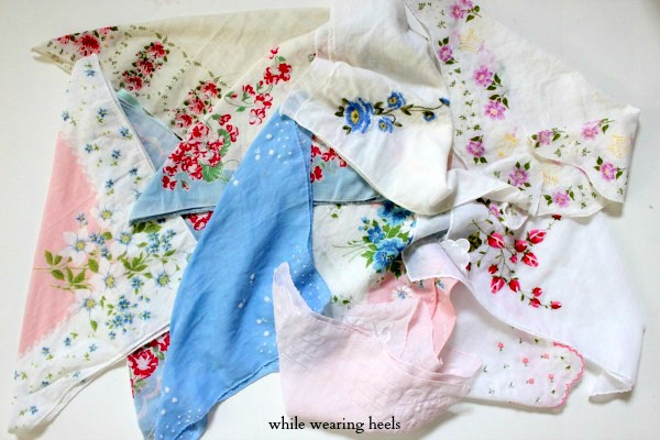 Handkerchief Garland Sew and No-Sew Tutorial
