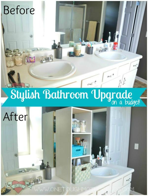 Stylish Bathroom Upgrade On A Budget
