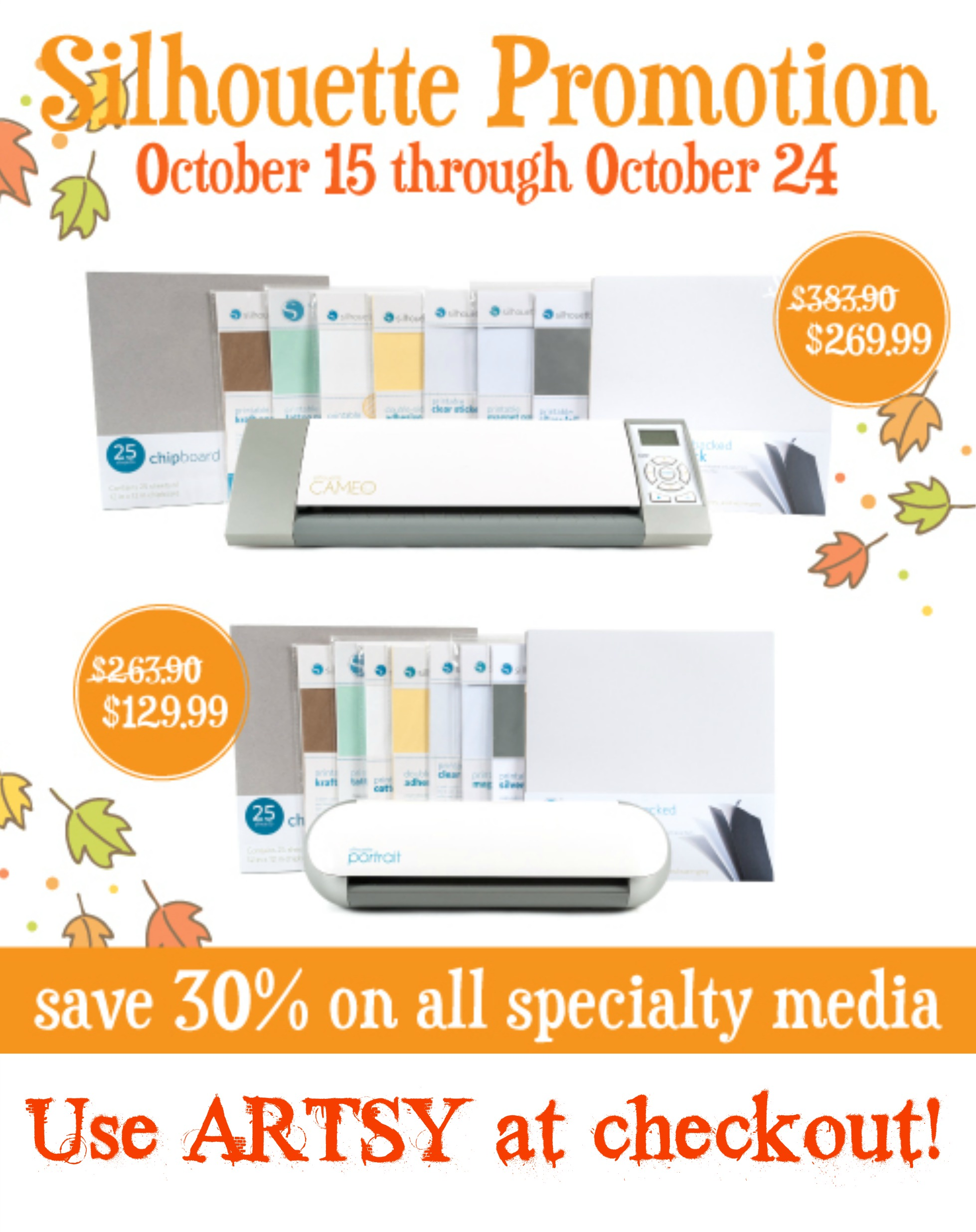 Silhouette Specialty Media Promotion!