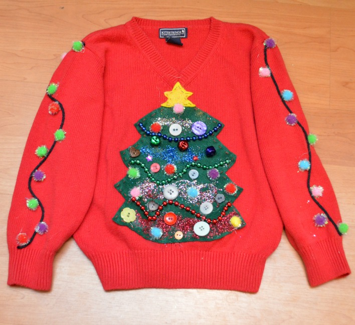 Diy Christmas Tree Sweater: 40 DIY Ugly Christmas Sweater Ideas That Are Awesomely Bad