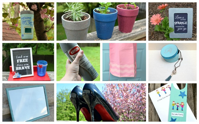 10 Spray Paint Projects and a Krylon Giveaway