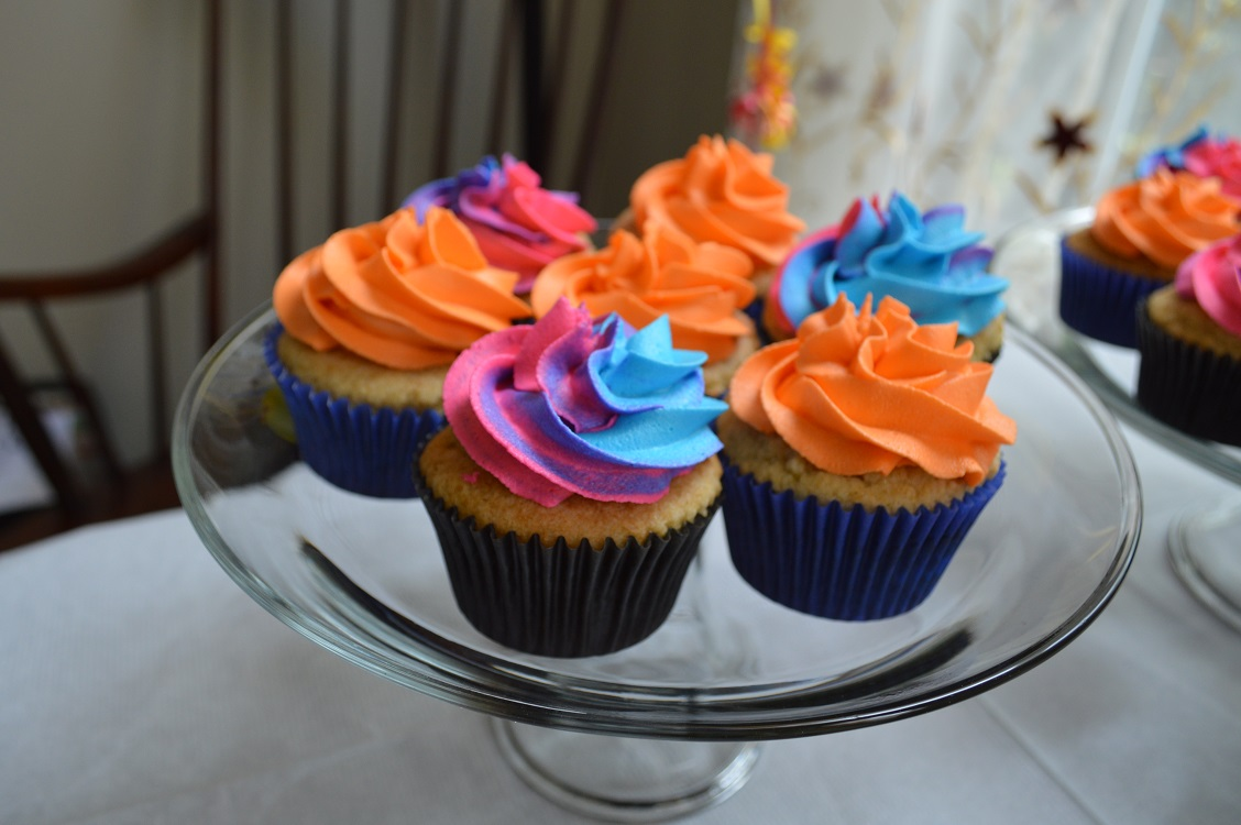 LEGO Movie Cupcakes – and they're Gluten Free!