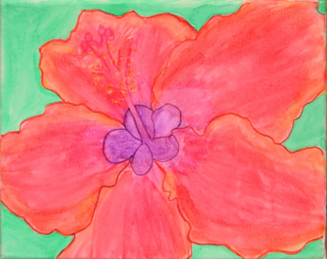 Flowers on Canvas: A Lesson on Georgia O'Keeffe