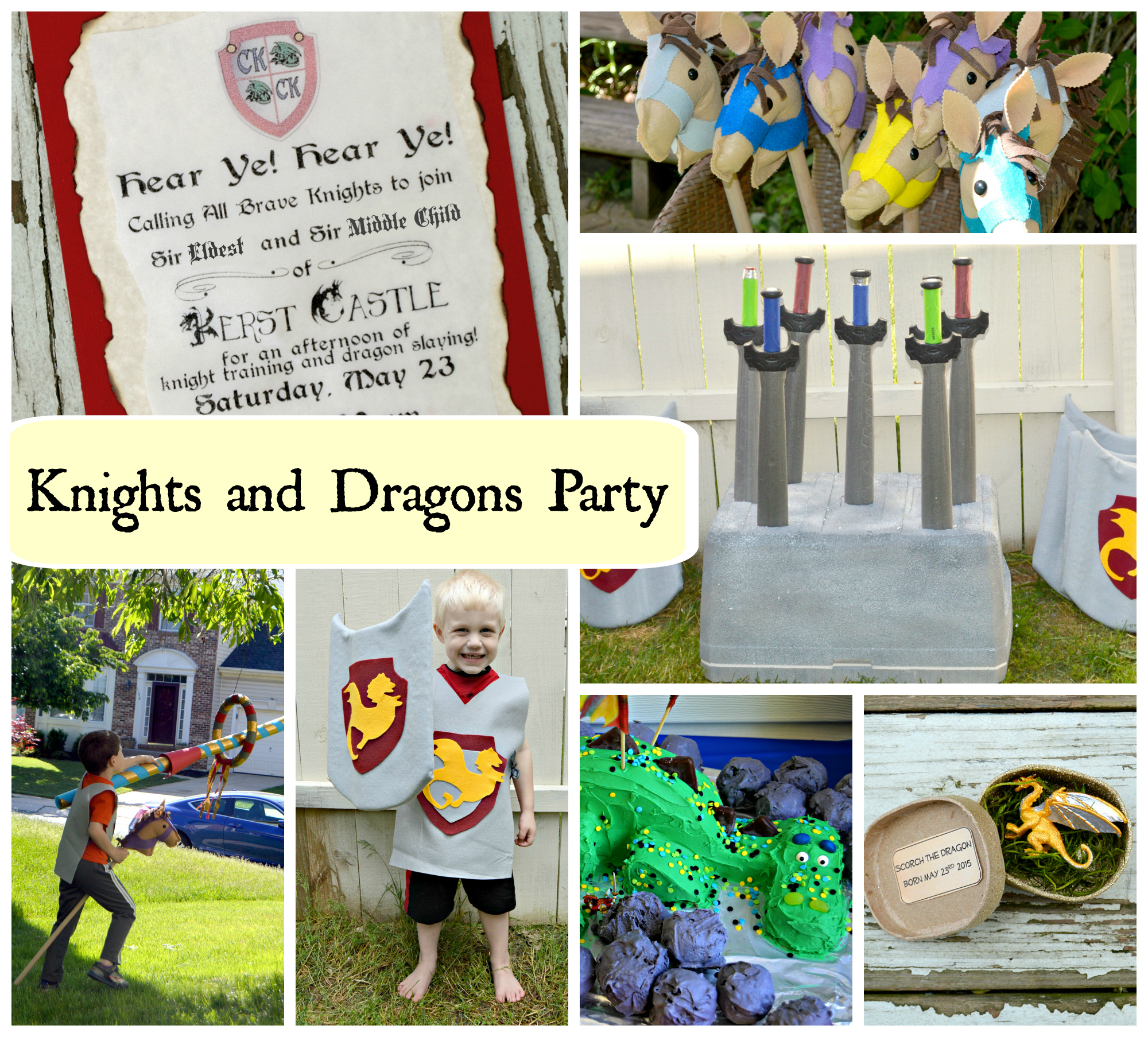 Knights and Dragons Party
