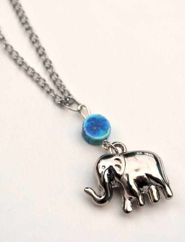 Boho Elephant Pendant