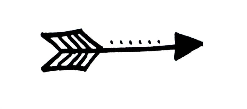 Basic Hand Lettering: Arrow Embellishment - Amy Latta ...