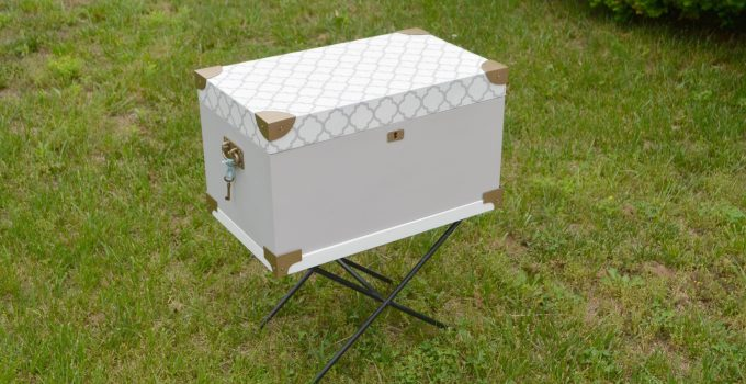 Painted Wooden Chest: A Makeover with FolkArt Home Decor Chalk Paint