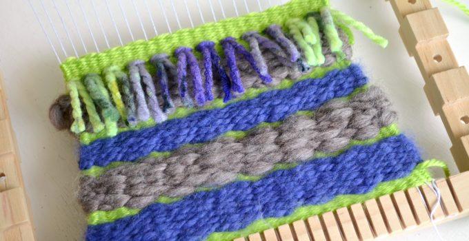 Basic Weaving: Twill Stitch & Fringe