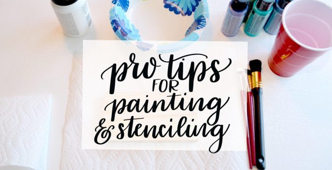 Painting & Stenciling Tips from the Pros