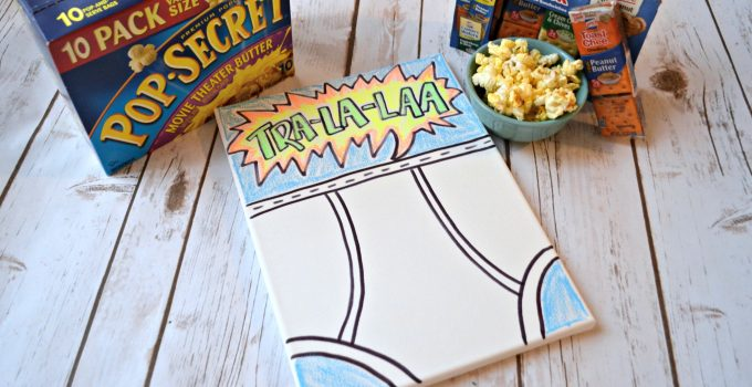 Captain Underpants Movie Night and Underpants Art