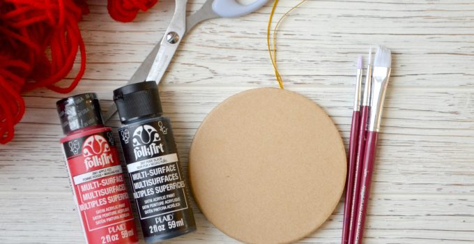 Simple DIY Chinese New Year Decoration: Year of the Dog