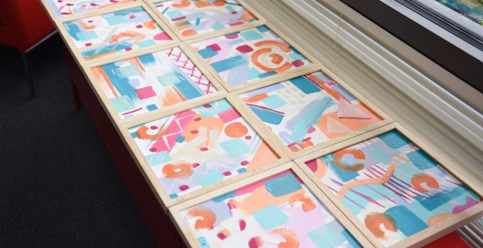 Musical Paintings: An Abstract Art Group Activity